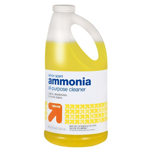 ammonia and hot water carpet stain cleaner