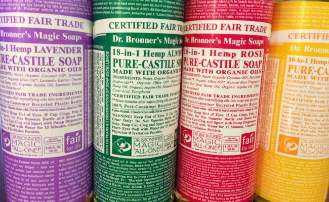 castile soap cleaning
